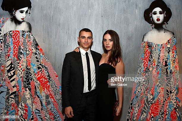 Actor Dave Franco and actress Alison Brie attend the 'Now You See Me 2' world premiere after party at TAO Downtown on June 6 2016 in New York City