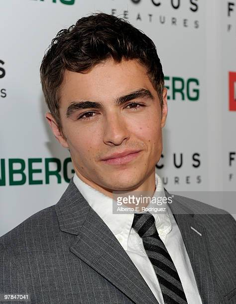 Actor Dave Franco arrives on the red carpet at the 'Greenberg' Los Angeles Premiere at ArcLight Cinemas on March 18 2010 in Hollywood California