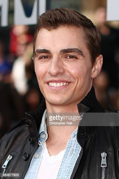 Actor Dave Franco attends the 2014 MTV Movie Awards at Nokia Theatre LA Live on April 13 2014 in Los Angeles California