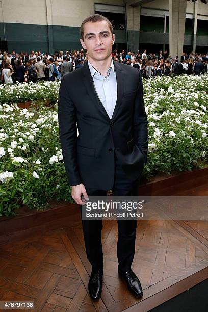 Actor Dave Franco attends the Dior Homme Menswear Spring/Summer 2016 show as part of Paris Fashion Week on June 27 2015 in Paris France