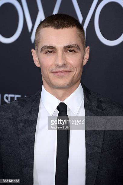 Actor Dave Franco attends the 'Now You See Me 2' world premiere at AMC Loews Lincoln Square 13 theater on June 6 2016 in New York City
