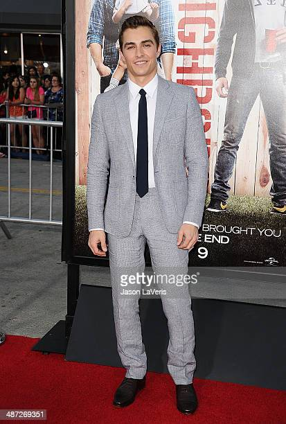 Actor Dave Franco attends the premiere of 'Neighbors' at Regency Village Theatre on April 28 2014 in Westwood California
