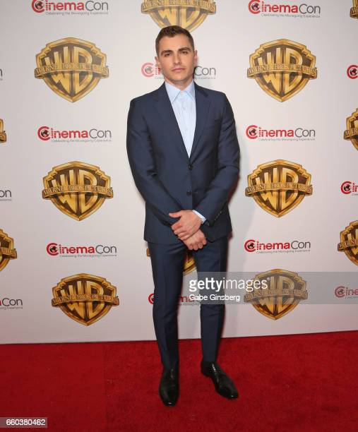 Actor Dave Franco attends the Warner Bros Pictures presentation during CinemaCon at The Colosseum at Caesars Palace on March 29 2017 in Las Vegas...