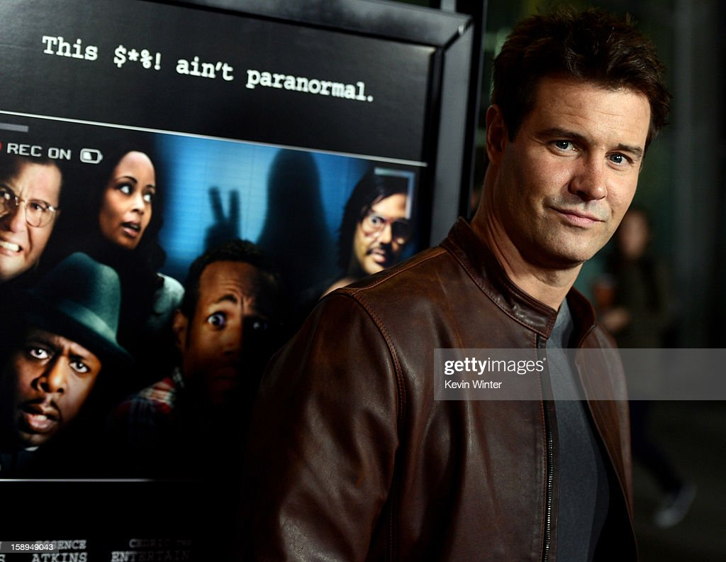 Actor Dave Sheridan arrives at the premiere of Open Road Films' 'A Haunted House' at the Arclight Theatre on January 3, 2013 in Los Angeles, California.