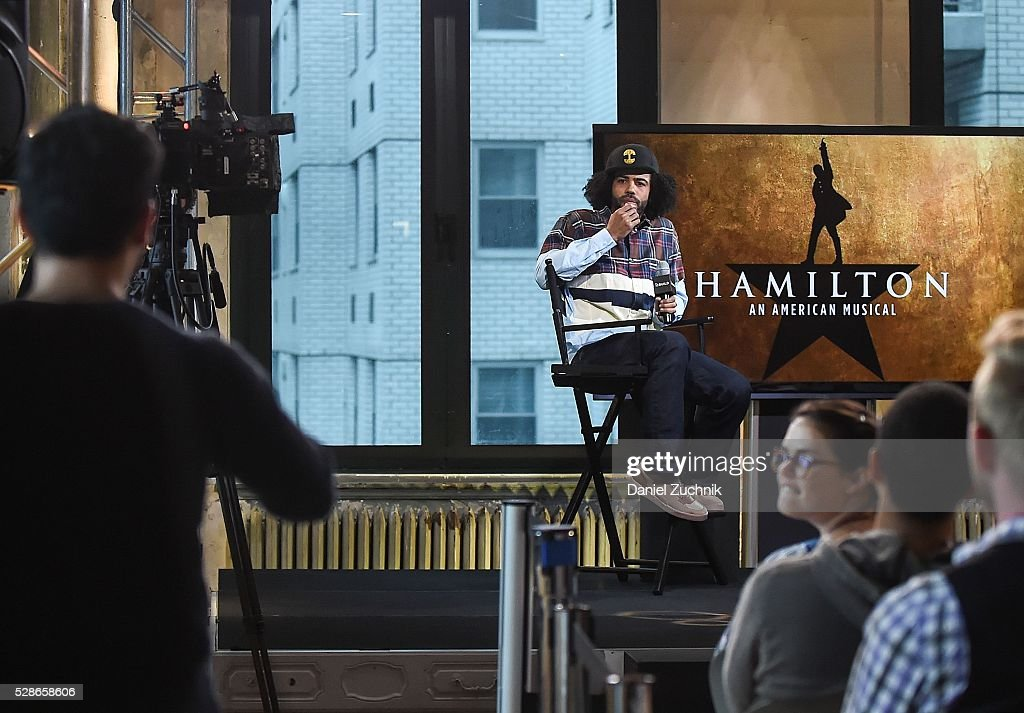 Actor Daveed Diggs attends AOL Build to discuss 'Hamilton' on May 06, 2016 in New York, New York.