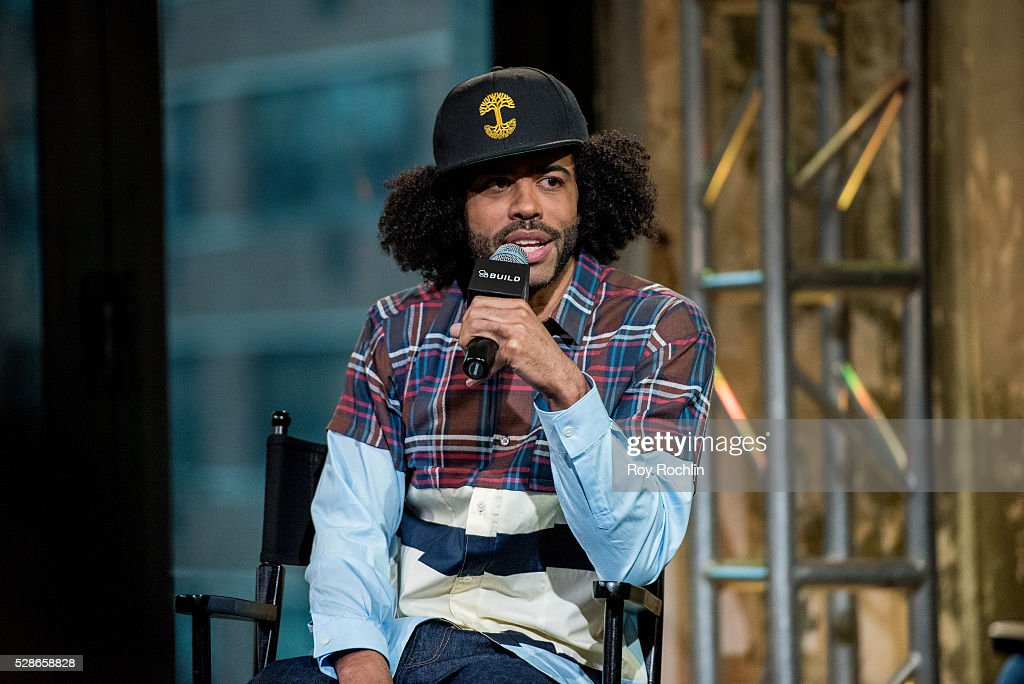 Actor Daveed Diggs discusses 'Hamilton' with AOL build at AOL Studios In New York on May 6, 2016 in New York City.