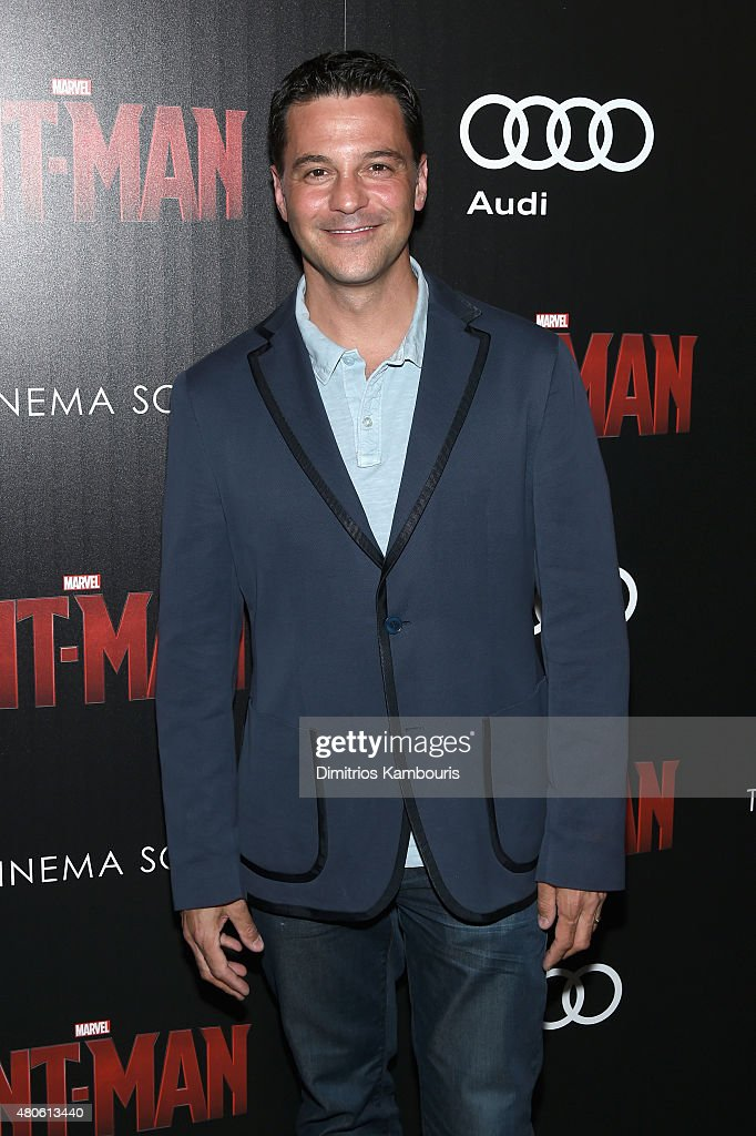Actor David Alan Basche attends Marvel's screening of 'Ant-Man' hosted by The Cinema Society and Audi at SVA Theater on July 13, 2015 in New York City.