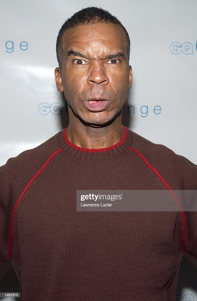 Actor David Alan Grier arrives at the launch of the book 'Who's Sorry Now' by Joe Pantoliano at the GQ Lounge September 28, 2002, in New York City.