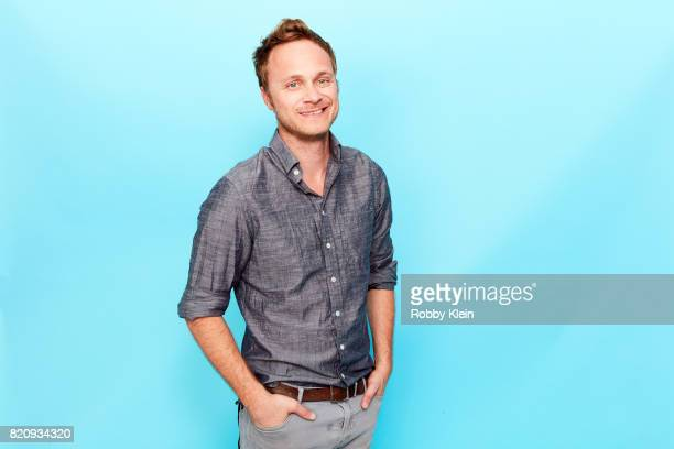 Actor David Anders from CW's 'iZombie' poses for a portrait during ComicCon 2017 at Hard Rock Hotel San Diego on July 21 2017 in San Diego California