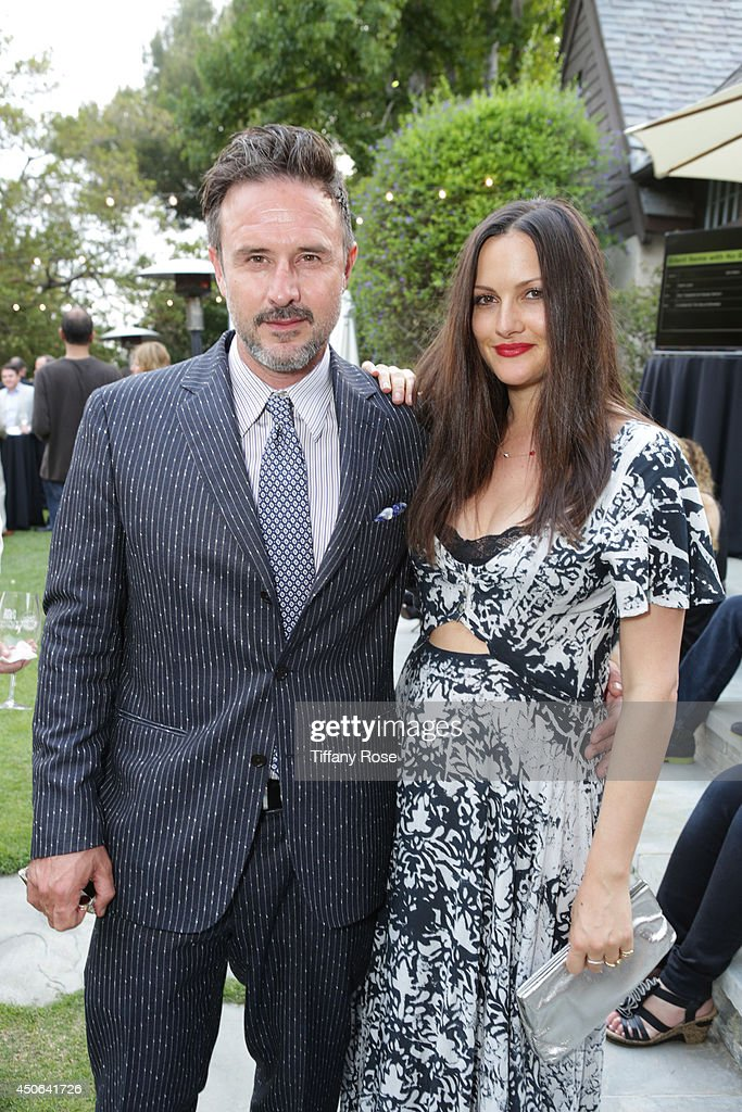 Actor David Arquette and actress Christina McLarty attend the Vintage Hollywood Fundraiser for Ocean Park Community Center on June 14 2014 in Los...