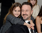 Actor David Arquette and Coco Arquette attend The Art of Elysium's 6th Annual HEAVEN Gala presented by Audi at 2nd Street Tunnel on January 12 2013...