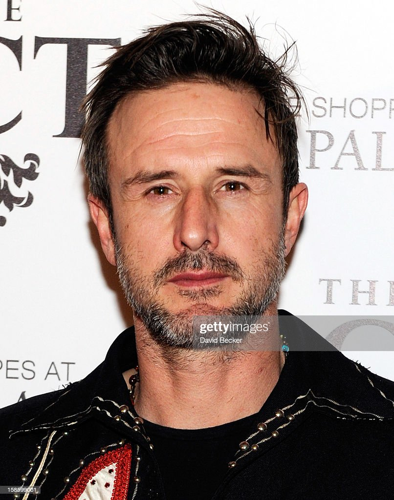 Actor David Arquette arrives at The Act at The Palazzo on December 19, 2012 in Las Vegas, Nevada.