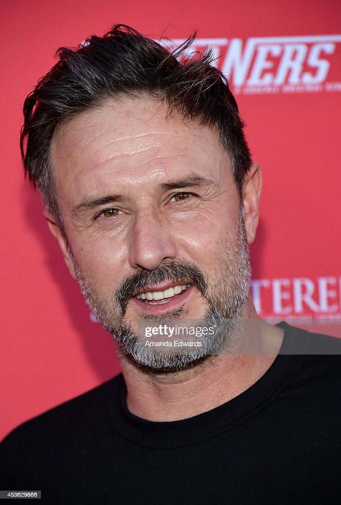 Actor <a gi-track='captionPersonalityLinkClicked' href=/galleries/search?phrase=David+Arquette&family=editorial&specificpeople=201740 ng-click='$event.stopPropagation()'>David Arquette</a> arrives at the Crackle Original Series' 'Cleaners' and 'Sequestered' summer premiere celebration at 1 OAK on August 14, 2014 in West Hollywood, California.