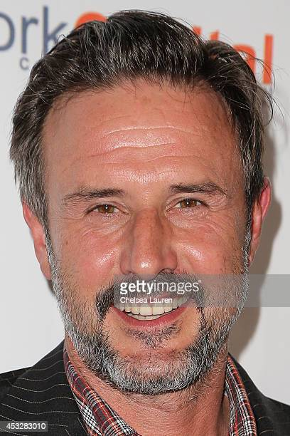Actor David Arquette arrives at THE IMAGINE BALL at House of Blues Sunset Strip on August 6 2014 in West Hollywood California