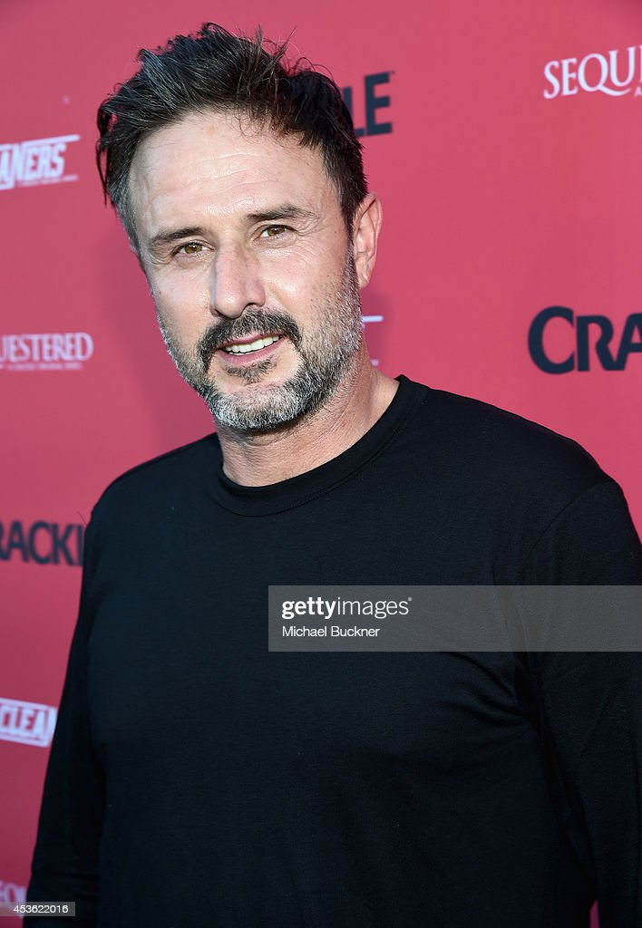Actor David Arquette attends Crackle Presents Summer Premieres Event for originals 'Sequestered' and 'Cleaners' at 1 OAK on August 14 2014 in West...