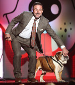 Actor David Arquette attends Fox's Cause For Paws All Star Dog Spectacular at Barker Hangar on November 22 2014 in Santa Monica California