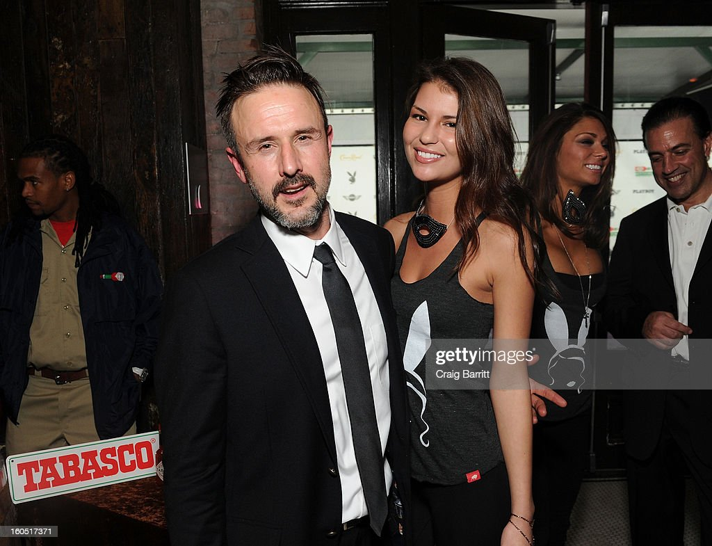 Actor <a gi-track='captionPersonalityLinkClicked' href=/galleries/search?phrase=David+Arquette&family=editorial&specificpeople=201740 ng-click='$event.stopPropagation()'>David Arquette</a> attends Tabasco Original Red Sauce at the Playboy Party presented by Crown Royal on February 1, 2013 in New Orleans, Louisiana.