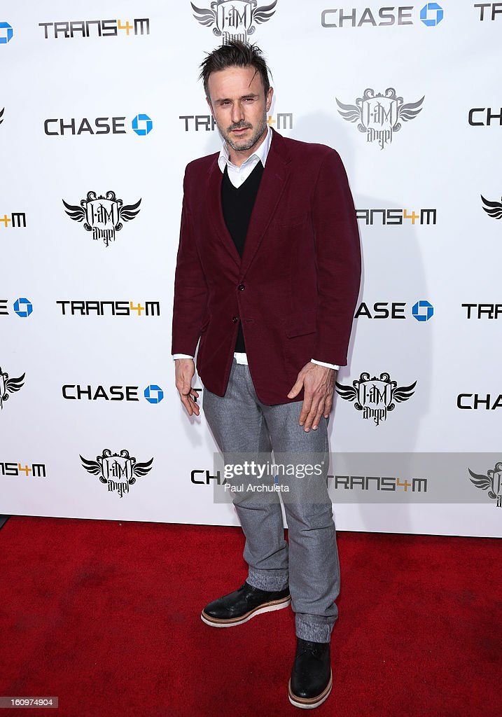 Actor David Arquette attends the 2nd Annual Will.i.am TRANS4M Boyle Heights benefit concert at Avalon on February 7, 2013 in Hollywood, California.
