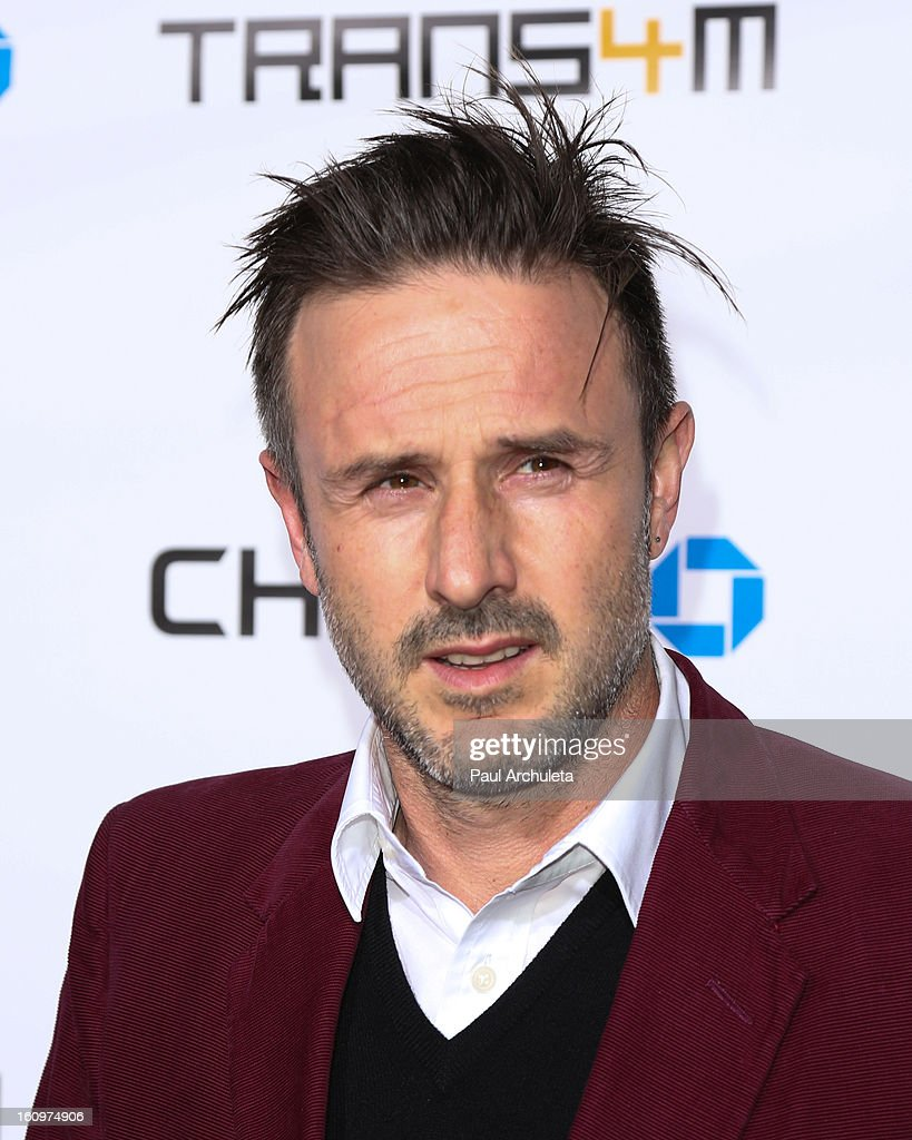 Actor <a gi-track='captionPersonalityLinkClicked' href=/galleries/search?phrase=David+Arquette&family=editorial&specificpeople=201740 ng-click='$event.stopPropagation()'>David Arquette</a> attends the 2nd Annual Will.i.am TRANS4M Boyle Heights benefit concert at Avalon on February 7, 2013 in Hollywood, California.