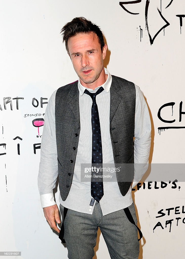 Actor David Arquette attends The Art of Elysium's 6th annual Pieces of Heaven charity art auction presented by Ciroc Ultra Premium Vodka at Ace Museum on February 20, 2013 in Los Angeles, California.