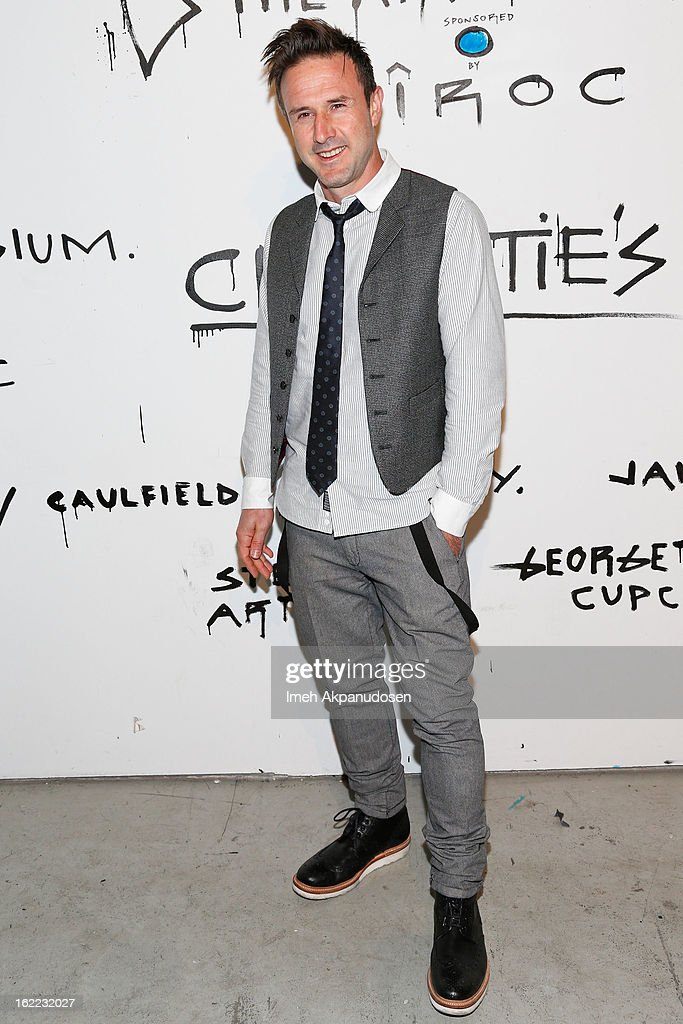 Actor David Arquette attends The Art Of Elysium's 6th Annual Pieces Of Heaven Powered By Ciroc Ultra Premium Vodka at Ace Museum on February 20, 2013 in Los Angeles, California.