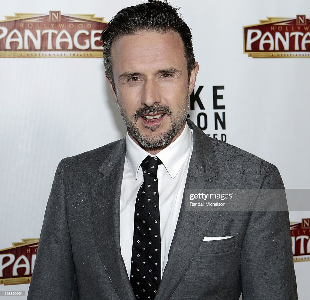 Actor David Arquette attends the Los Angeles Premiere of 'Mike Tyson - Undisputed Truth' at the Pantages Theatre on March 8, 2013 in Hollywood, California.