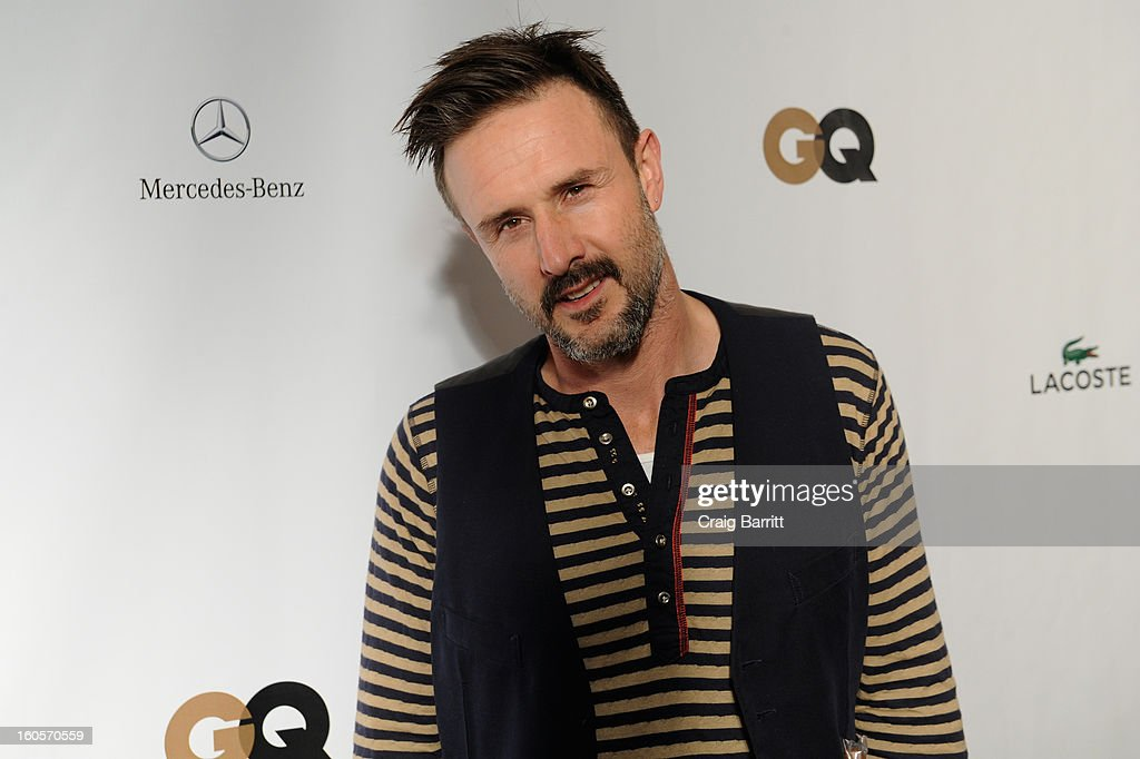 Actor <a gi-track='captionPersonalityLinkClicked' href=/galleries/search?phrase=David+Arquette&family=editorial&specificpeople=201740 ng-click='$event.stopPropagation()'>David Arquette</a> attends the Mercedes-Benz/GQParty at The Elms Mansion on February 2, 2013 in New Orleans, Louisiana.