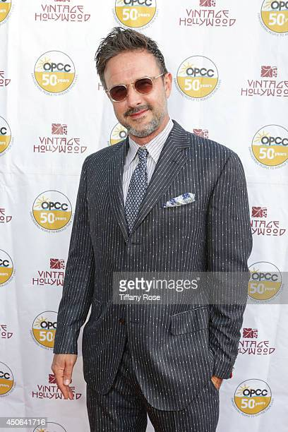 Actor David Arquette attends the Vintage Hollywood Fundraiser for Ocean Park Community Center on June 14 2014 in Los Angeles California