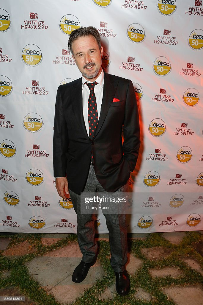 Actor David Arquette attends the Vintage Hollywood Wine & Food Tasting for the Ocean Park Community Center on June 11, 2016 in Los Angeles, California.