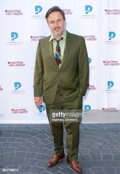 Actor David Arquette attends the Vintage Hollywood Wine Food Tasting to benefit to benefit The People Concern on June 10 2017 in Los Angeles...