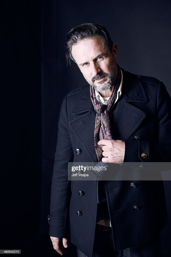 Actor David Arquette from 'The Resurrection of Jake The Snake Roberts' poses for a portrait at the Village at the Lift Presented by McDonald's McCafe...