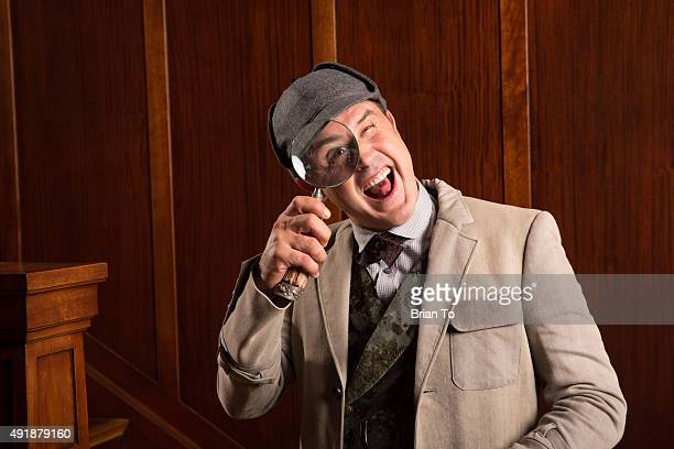 Actor David Arquette poses at Original Stage Adaptation of 'Sherlock Holmes' Photo Shoot on October 8 2015 in Los Angeles California
