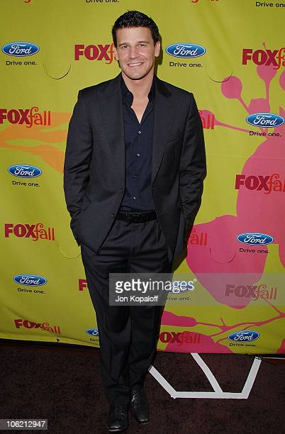 Actor David Boreanaz arrives at Fox Fall EcoCasino Party at BOA Steakhouse on September 14 2009 in West Hollywood California