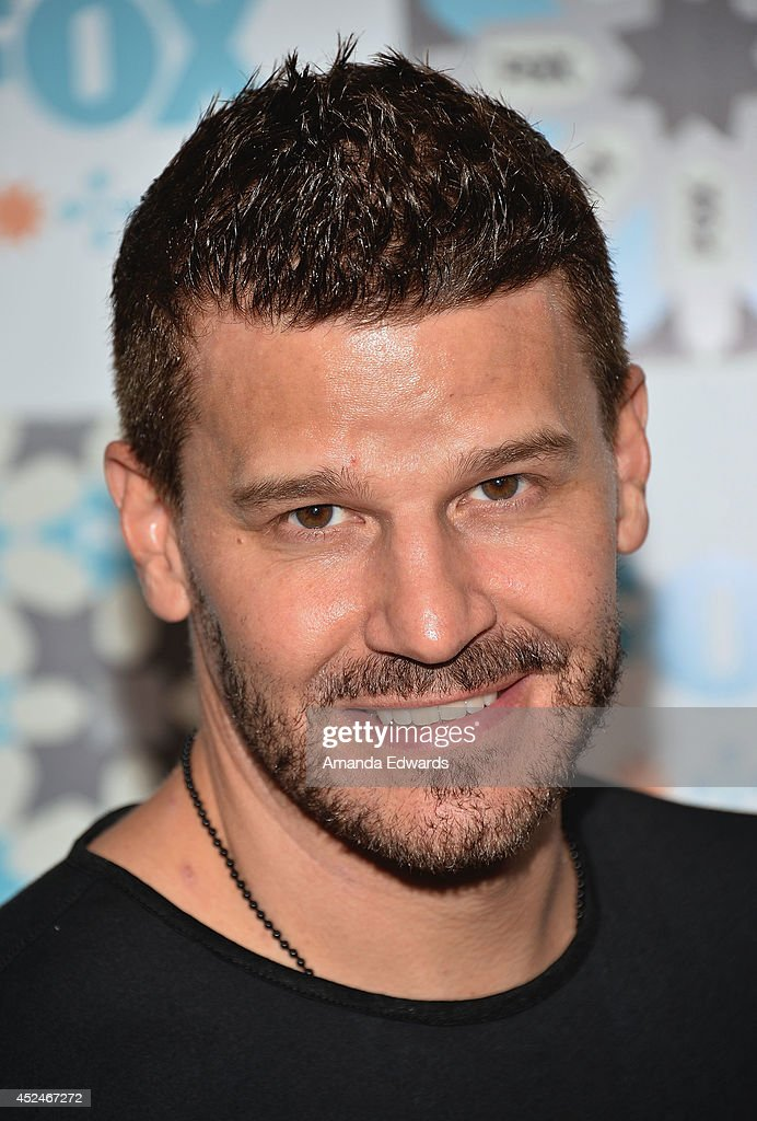 Actor <a gi-track='captionPersonalityLinkClicked' href=/galleries/search?phrase=David+Boreanaz&family=editorial&specificpeople=214055 ng-click='$event.stopPropagation()'>David Boreanaz</a> arrives at the 2014 Television Critics Association Summer Press Tour - FOX All-Star Party at Soho House on July 20, 2014 in West Hollywood, California.