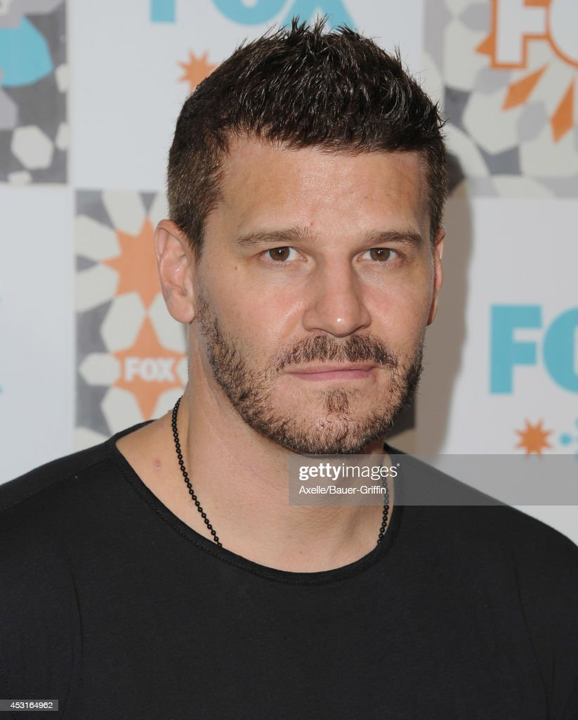 Actor <a gi-track='captionPersonalityLinkClicked' href=/galleries/search?phrase=David+Boreanaz&family=editorial&specificpeople=214055 ng-click='$event.stopPropagation()'>David Boreanaz</a> arrives at the FOX All-Star Party 2014 Television Critics Association Summer Press Tour at Soho House on July 20, 2014 in West Hollywood, California.