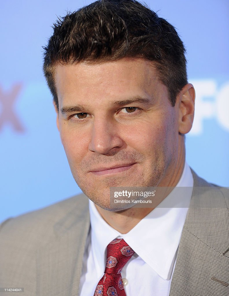 Actor <a gi-track='captionPersonalityLinkClicked' href=/galleries/search?phrase=David+Boreanaz&family=editorial&specificpeople=214055 ng-click='$event.stopPropagation()'>David Boreanaz</a> attends the 2011 Fox Upfront at Wollman Rink - Central Park on May 16, 2011 in New York City.