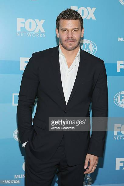 Actor David Boreanaz attends the 2015 FOX programming presentation at Wollman Rink in Central Park on May 11 2015 in New York City