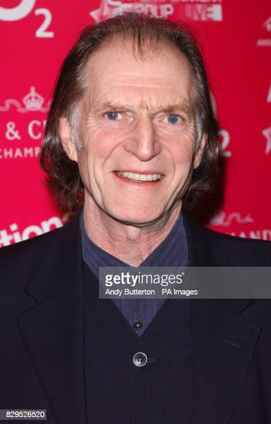 Actor David Bradley arrives