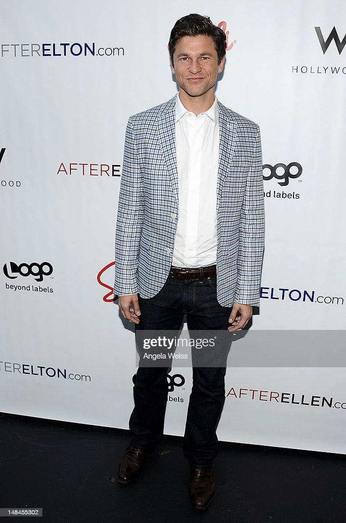 Actor <a gi-track='captionPersonalityLinkClicked' href=/galleries/search?phrase=David+Burtka&family=editorial&specificpeople=572242 ng-click='$event.stopPropagation()'>David Burtka</a> attends Logo's AfterEllen & AfterElton Inaugural 'Hot 100 Party' at Station Hollywood at W Hollywood Hotel on July 16, 2012 in Hollywood, California.