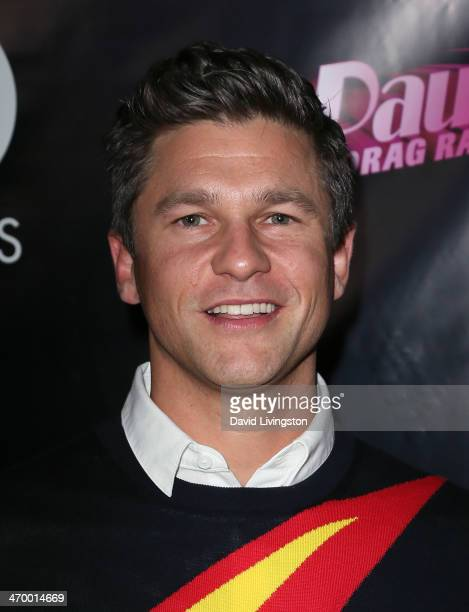 Actor David Burtka attends the 'RuPaul's Drag Race' Season 6 premiere party at The Roosevelt Hotel on February 17 2014 in Hollywood California