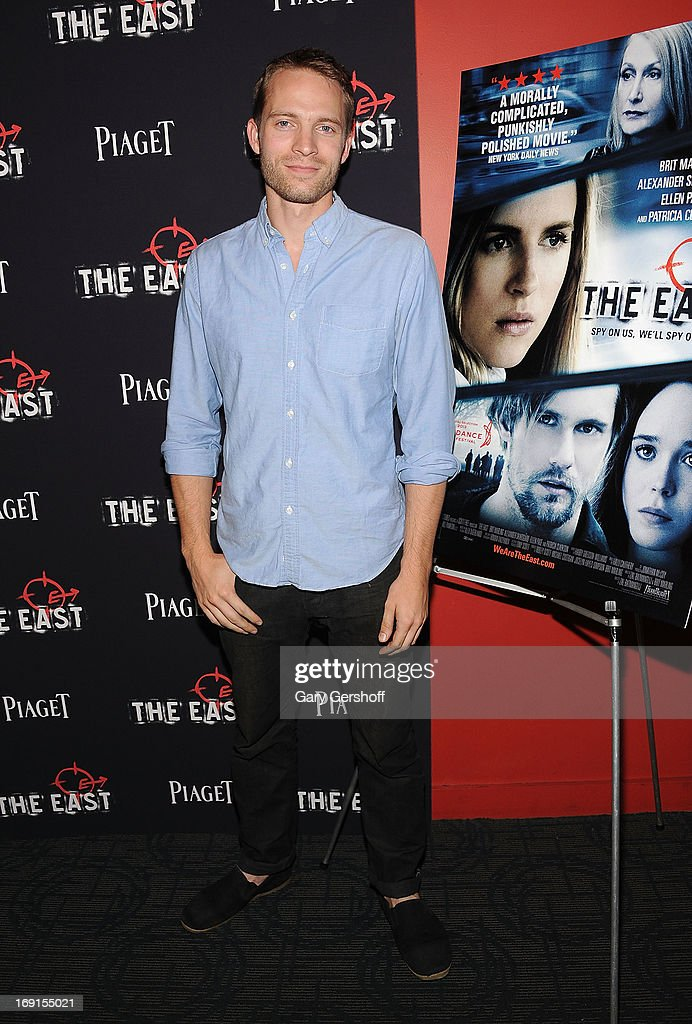 Actor <a gi-track='captionPersonalityLinkClicked' href=/galleries/search?phrase=David+Call&family=editorial&specificpeople=4015507 ng-click='$event.stopPropagation()'>David Call</a> attends 'The East' premiere at Landmark's Sunshine Cinema on May 20, 2013 in New York City.