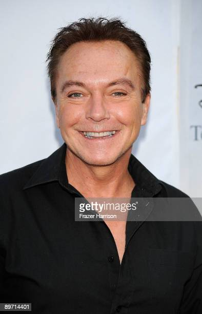 Actor David Cassidy arrives at DisneyABC Television Group Summer Press Tour Party at The Langham Hotel on August 8 2009 in Pasadena California