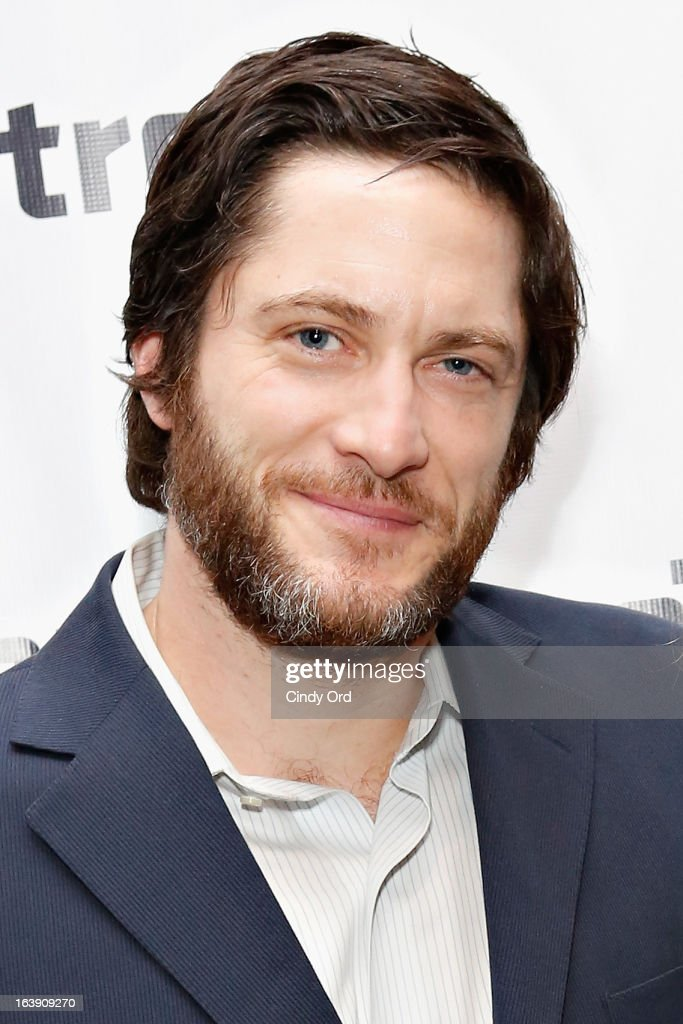 Actor David Conrad attends 'The Mound Builders' Opening Night Party at Signature Theatre Company's The Pershing Square Signature Center on March 17, 2013 in New York City.