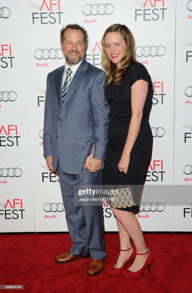 Actor David Costabile and Eliza Baldi arrive at the 'Lincoln' premiere during AFI Fest 2012 presented by Audi at Grauman's Chinese Theatre on November 8, 2012 in Hollywood, California.