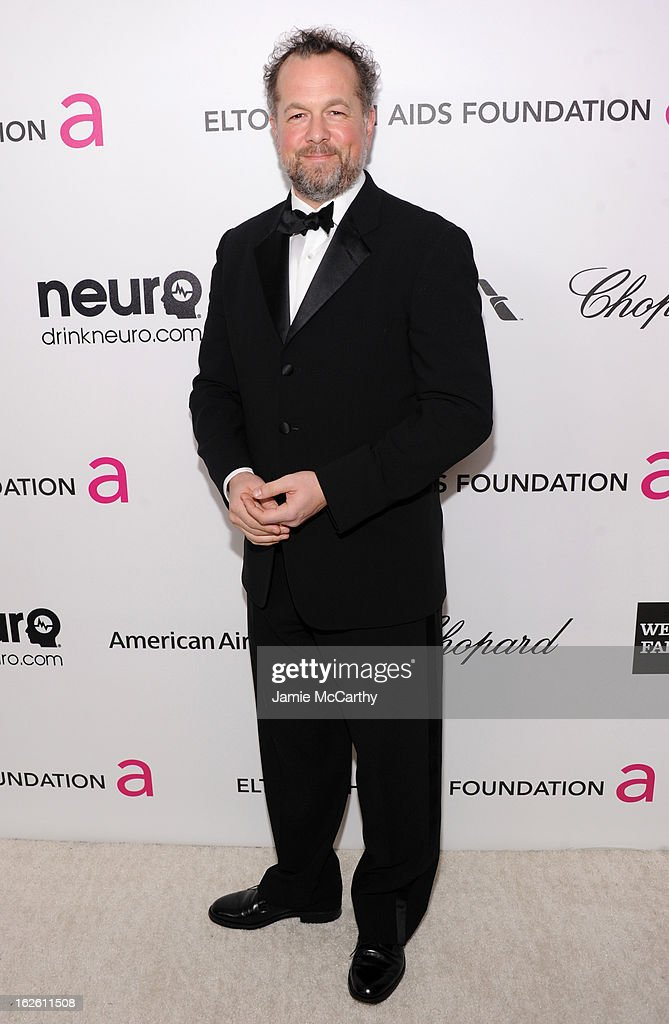Actor David Costabile attends the 21st Annual Elton John AIDS Foundation Academy Awards Viewing Party at West Hollywood Park on February 24, 2013 in West Hollywood, California.