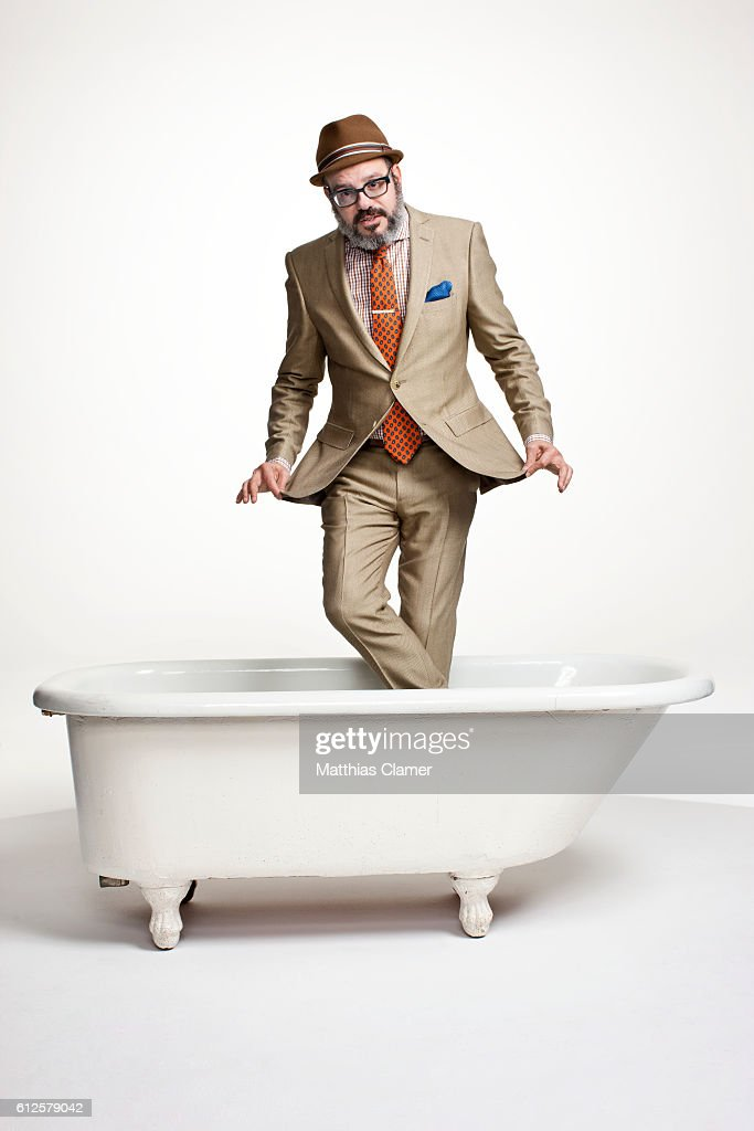Actor David Cross is photographed for Playboy Magazine on November 21, 2011.