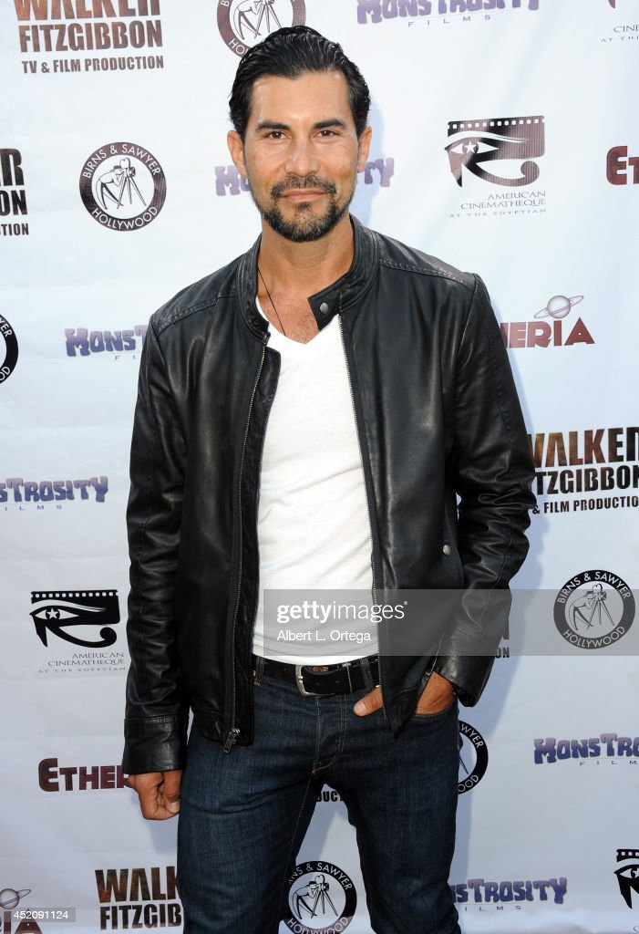 Actor David De Santos arrives for the 2014 Etheria Film Night held at American Cinematheque's Egyptian Theatre on July 12, 2014 in Hollywood, California.