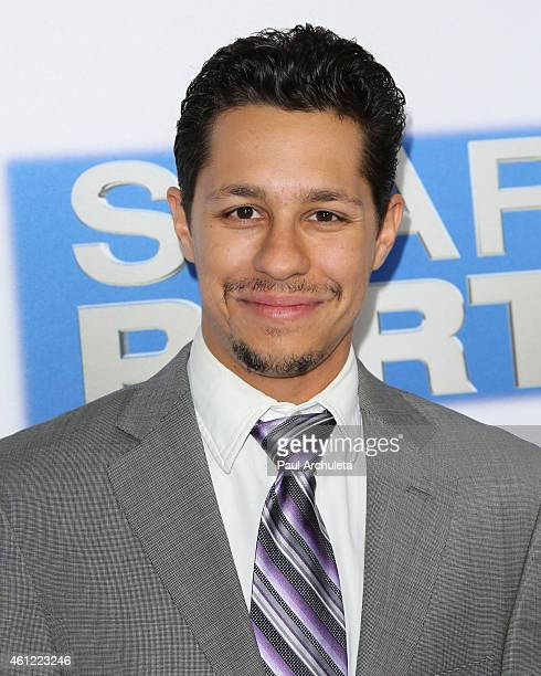 Actor David Del Rio attends the premiere of 'Spare Parts' at ArcLight Cinemas on January 8 2015 in Hollywood California