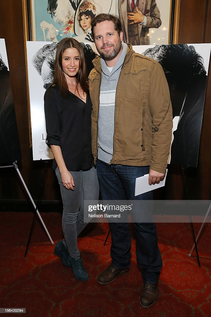 Actor David Denman and Mercedes Masohn attend the special screening of Steven Spielberg's 'Lincoln' at the Ziegfeld Theatre on November 14, 2012 in New York City.