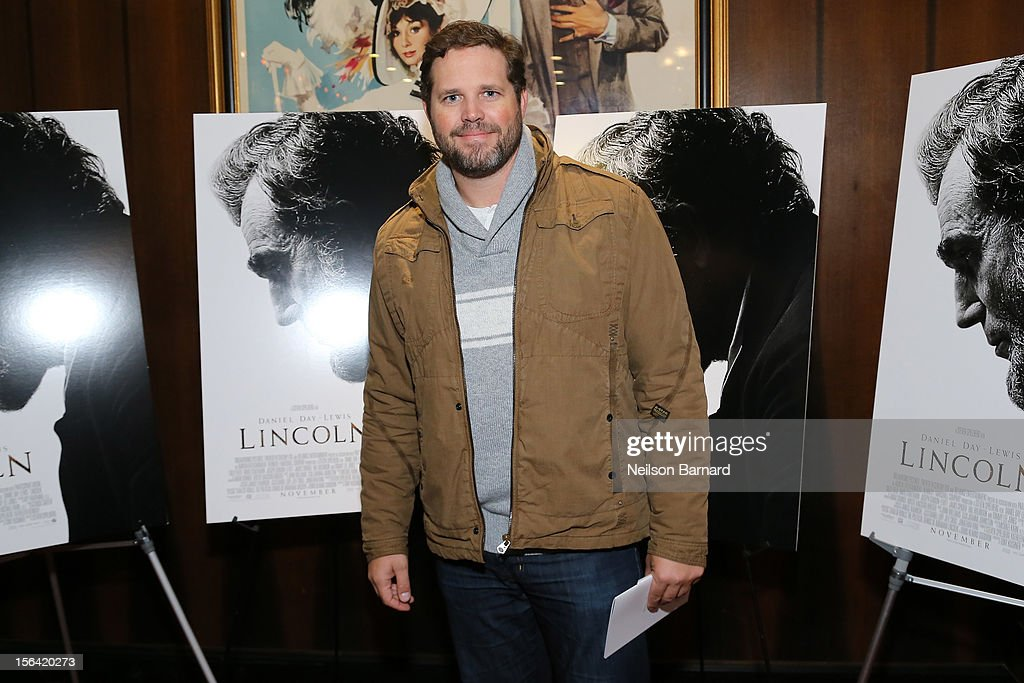 Actor David Denman attends the special screening of Steven Spielberg's 'Lincoln' at the Ziegfeld Theatre on November 14, 2012 in New York City.